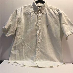 White Ralph Lauren button shirt